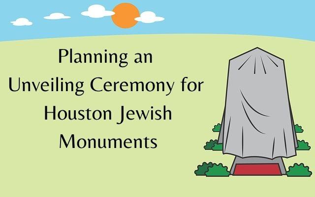 Covered Headstone - Planning unveiling for Houston Jewish monuments - Gaitz Memorials